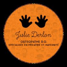 Logo de Julie Derlon Ostéopathe